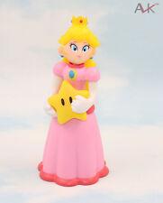 Super Mario Brothers/Bros Princess Peach with star Figure Collecion 12cm