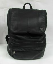 Tumi Leather Rucksack / Satchel Backpack Black 60104D - FREE SHIPPING