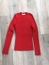 Balenciaga Crewneck Sweater- Red- Size 38
