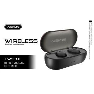 Wireless HeadphonesTrue Wireless Bluetooth Earbuds Headphones 30H Playtime 6D