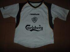 Liverpool 2001-02 away football shirt, small boys OWEN 10