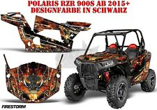 AMR Racing DECORO GRAPHIC KIT UTV POLARIS General/RZR 900s/1000xp Firestorm B