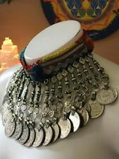 Vintage Kuchi Pendant Antique Choker K-1 Authentic Tribal Ats Belly Dance Gypsy