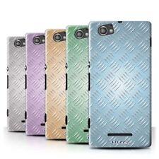 Étuis, housses et coques Sony Xperia M en métal pour téléphone mobile et assistant personnel (PDA)