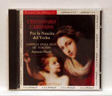ANTONIO FLORIO - CARESANA per la nascita del verbo OPUS111 CD NM