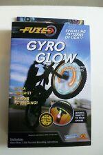 "Espoleta Gyro resplandor de Ruedas Bicicleta Bmx Mountian patrones de luces intermitentes hasta 18"" ruedas"
