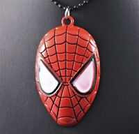 Marvel Spider-Man Alloy Pendant Necklace/Chain w/Free Jewelry Box and Shipping