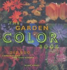 Garden Color Book Williams, Paul Spiral-bound