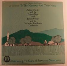 a tribute to the maestros and their music 2lp arthur fiedler  SEALED FCLP 5184