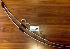 6pc Rear Emergency Park Brake Cable Kit Camaro Firebird 67-69 Nova 68-79 cables