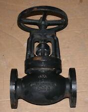 "2"" Lunkenheimer 250# Iron Body Flanged Globe Valve 884"