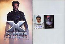 X-Men The Last Stand Movie cards Album Binder + Auto