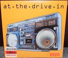 "At The Drive-In Vaya RED Color Vinyl LP 10"" the mars volta omar rodriguez lopez"