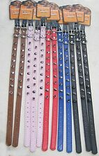 """WHOLESALE LOT of 12 - 18"""" Spiked Dog Collars"""