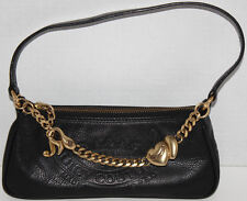 EUC Juicy Couture Black Leather Purse