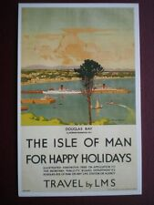 POSTCARD LMS - THE ISLE OF MAN FOR HAPPY HOLIDAYS