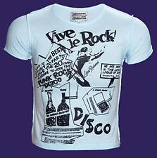 Vive Le Rock Blue Short Sleeved Seditionaries T Shirt 2 Sided Print Viva La ROCK