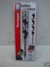 "TREND SNAPPY 19MM X 155MM WOOD AUGER DRILL BIT  1/4"" HEX  SNAP/AB/19 + 3 PENCILS"
