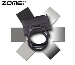 Zomei P-Series ND Neutral Density Square Filter Holder Kit Set