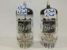 one pair ECC88 Philips Miniwatt made in Heerlen similar E88CC or E188CC