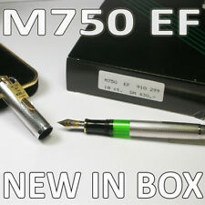 1988 PELIKAN M750 EF SILVER LIMITED EDITION 150 YEARS VINTAGE NEW IN BOX NOS PEN