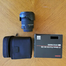 Sigma EX 17-50mm f/2.8 OS HSM DC Lens For Nikon, Excellent Condition
