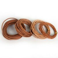 5 Meter Leather Cord Round Rope String For DIY Necklace Bracelet Jewelry Cord/*