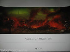 Fallout 3 4 Vegas Ashes of Megaton Giclee Lithograph Limited Edition #493 36X24