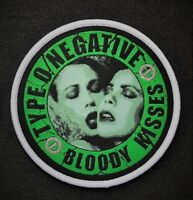 Type O Negative - Bloody Kisses PATCH Danzig Carnivore Moonspell Tiamat