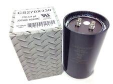 270-324 uF Start Capacitor 330 vac Motor Compressor Pool Pump A/C Blower Fan Air