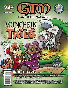 Game Trade Magazine #248 Munchkin Tails   Marvel Heroclix (GTM, 2020) NM