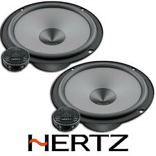 "HERTZ UNO K165 6.5"" 16.5CM COMPONENT 2 WAY CAR VAN STEREO SPEAKER SET PAIR 300W"