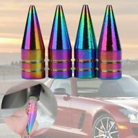 Universal Auto Rad Kugel Aluminium Reifen Luft Ventil Cap Abdeckung Staub C Y9N9