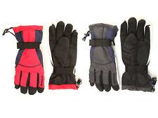 Mens Snowboard Ski Gloves Grip Palms Adjustable Toggle Winter Sports Polar Expo