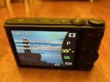 MINT Sony Cyber-shot DSC-WX350 18.2MP Camera SD Card, Case, Battery, & Charger