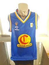 CAMISETA SHIRT VINTAGE MERCURY CASADEMONT GIRONA BASKETBALL ACB SIGNED TALLA L