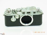 Leica IIIf Sucherkamera Leitz Wetzlar M39 Objektiv-Gewinde Leica-3f body chrom