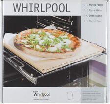 Piastra Pietra Forno terracotta refrattaria con Ricettario Pala Pizza Whirlpool