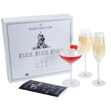 Dartington cristal - Fizz Paquet de trois Flûte à champagne Set en boîte cadeau