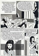 LA LOUVE A PARIS  (RENAUD) PLANCHE ORIGINALE AREDIT PAGE 77
