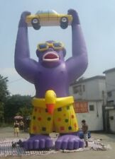 25ft (7.6M) Advertising Giant Inflatable Gorilla Automobile Promotion w Blower A