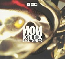 Non  Boyd Rice - Back to Mono [CD]