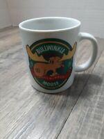 Vtg 1986 Bullwinkle Moose Mug Coffee Tea Pencil Cup Bullwinkle & Rocky Fun
