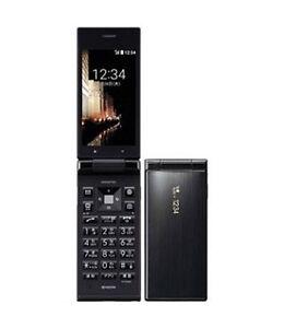 KYOCERA 501KC DIGNO KEITAI ANDROID 5.1 FLIP PHONE BLACK UNLOCKED NEW 502KC