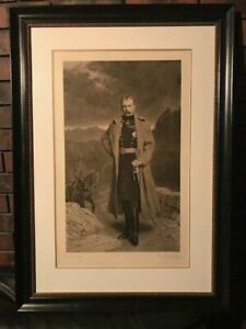 Martindale, Percy, portrait of Field Marshal Lord Kitchener, mezzotint