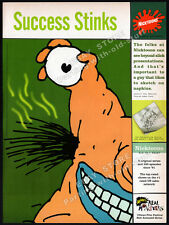 NICKTOONS - Nickelodeon__Orig. 1996 Trade print AD __AAAHH!! REAL MONSTERS_Csupo
