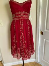 Adrianna Papell Beaded Dress Size 8