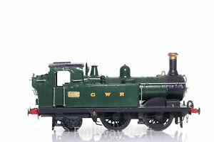 """Gauge 1 - 1400 Class Tank Loco """"1402"""" in GWR Green - Scratch Built in 10mm Scale"""