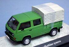 PREMIUM ClassiXXs 1/43 VW VOLKSWAGEN  T3B double cabine Plateau baché ref 13103