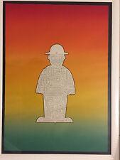 Tableau contemporain Lithographie signée Jean Sariano